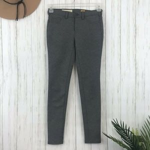 Pilcro & the Letterpress | Skinny Gray Serif Pant